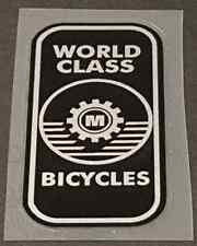 Miyata Head Badge Decal - Large - Black/Silver (sku Miya705)