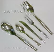 102 Plastic Silver Fork-Spoon-Knives-Serving Tools Cutlery Look of Silverware