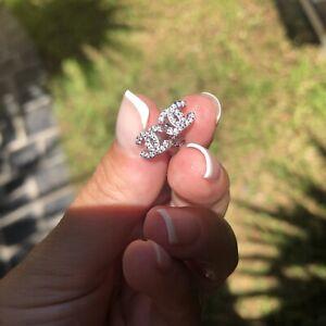 orecchini donna argento 925 Chanel Style