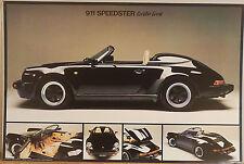 (PRL) PORSCHE 911 SPEEDSTER  AUTO STORICA CAR VINTAGE AFFICHE PRINT CAR POSTER