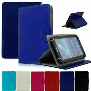"For 7"" 8"" 10"" 10.1"" inch Tablet Universal Folding PU Leather Stand Case Cover"