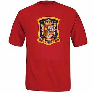 Spain FIFA Men's Adidas Climalite Short Sleeve T-Shirt