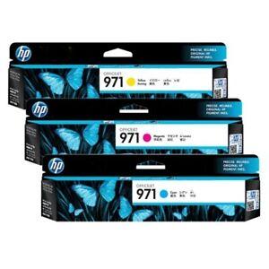 HP Toner 971 CN623AE CN623A Set mit 1x magenta 1x gelb 1x cyan, neu + in OPV