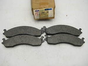 NEW GENUINE OEM Ford F7TZ-2001-AB FRONT Disc Brake Pads