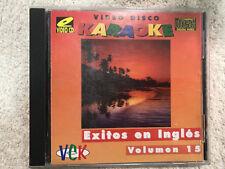 VIDEO DISCO KARAOKE VOLUMEN 15 EXITOS EN INGLES ELVIS PRESLEY Y MAS ...