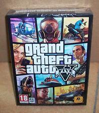 Grand Theft Auto V GTA 5 PC Polska Polish Polnisch PL 7x DVD BOX NEU NEW