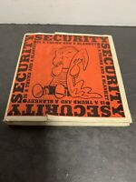 Security is a Thumb and a Blanket - by Charles M Schulz - 1st Edition - Peanuts