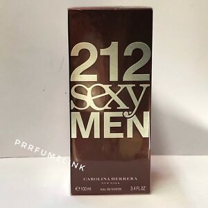 212  SEXY MEN 100ml EDT Spray Men's Perfume By Carolina Hererra (100% Genuine)