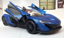 1:24 Scale McLaren P1 Matte Cerulean  Blue Detailed Motormax Diecast Model Car