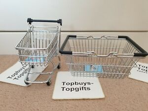 ✅Trusted Seller✅ M&S Marks And Spencer Little Shop Shopping Trolley &  Basket