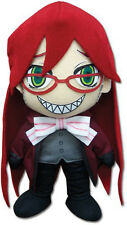 "Brand New Black Butler GE-7536 ~ 8"" Grell Official Licensed Plush Toy Doll"