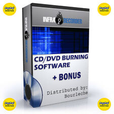 CD DVD BURN LEGAL COPY SOFTWARE PC VIDEO MUSIC DATA ★ FOR BACKUP TO  -  #B1