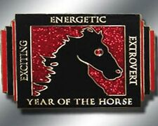 Chinese ZODIAC - YEAR OF THE HORSE Spinner Poker Card Guard