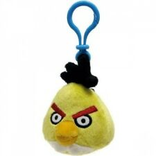 Angry Bird 'Yellow Clip On' 3 Inch Plush Toy Decoration Brand New Gift