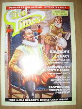 CARD TIMES MAGAZINE FORMERLY CIGARETTE CARD MONTHLY No 165 APRIL 2004