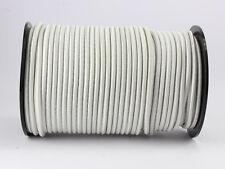(0,70 Euro/m) 20m Expanderseil 6mm weiß Gumm Planen Spannseil elast. Seil