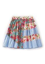 NWT MATILDA JANE BADMINTON Flouncy Paneled Floral Skirt Girl's 8 Happy & Free