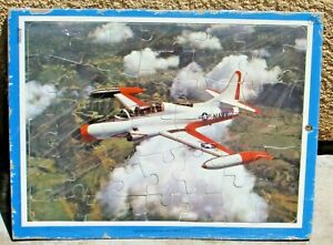 Lockheed Seastar Navy Airplane Circa 1960's  Puzzle
