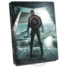 Captain America: The Return of the First Avenger (3D) [Steelbook] [Blu-ray] NEU