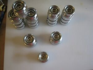 FIN-NOR AHAB Spare Line Spools Lot of 16 In great condition