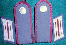 SB210  East German STASI shoulder boards,  soldat, lowest enlisted rank