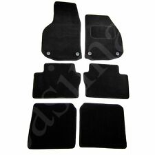 Vauxhall Zafira B Mk2 2006 - 2011 Tailored Carpet Car Mats Black 6pc Floor Set