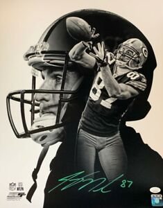 Packers Receiver JORDY NELSON Signed 16x20 Photo AUTO #2 - SB XLV Champ - JSA