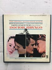DOCTOR ZHIVAGO Maurice Jarre SOUNDTRACK MGM NEW STEREO 71/2 ips REEL 2 REEL TAPE