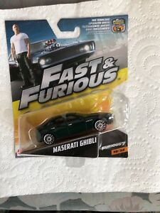 Fast and Furious  Maserati Ghibli die cast model car