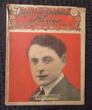 1920 MOVING PICTURE STORIES Magazine #385 VG- J Warren Kerrigan