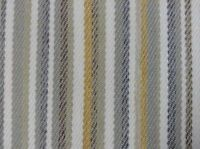 Drummond  Oatmeal Grey  Stripe Wool Type Upholstery/Curtain/Craft Fabric