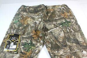 NWT  Realtree Edge Camo Men's XXL (44W-46W x 32L) Cargo Hunting Pants NEW  #Z230