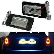 2X 18SMD LED License Plate Light Lamp Error Free For MINI Cooper R56 R57 R58 R59