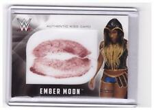 2017 Topps WWE Ember Moon Authentic KISS Card #D /99 !!!
