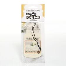 Yankee Candle 2D Car Jar Air Freshener Freshner Fragrance Scent - FLUFFY TOWELS