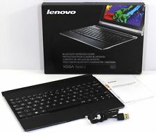 "100 % Genuine Lenovo Yoga Tablet 2 10.1"" Bluetooth Keyboard Cover BKC800 Black"