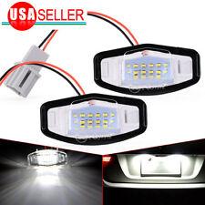 2x 18 LED License Plate Light For Acura Honda Accord Civic MR-V Pilot Odyssey