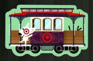 TARGET San Francisco Streetcar 2019 Die-Cut Gift Card ( $0 ) [ 2648 ]