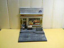 RENAULT 4 6 roues le diorama de la boulangerie 1/43 4L