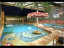 CRISTINA PALMA HOTEL / MALLORCA (ESPAGNE) PISCINE intérieure en 1971