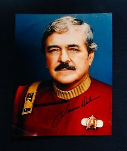 STAR TREK~James Doohan Autographed 8x10 Photograph~Beam Me Up Scotty~Sci Fi