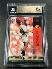 CRISTIANO RONALDO 2003 UPPER DECK #14 ROOKIE CARD RC BGS 9.5 MANCHESTER UNITED