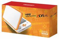 💥Nintendo 2DS XL Bundle Orange White 💥