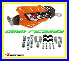 Paramani RACETECH FLX ALU universali Moto Motard Mini Pit-Bike Naked (Arancio)