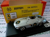 BES2H voiture 1/43 BEST : FERRARI 750 Monza 40° anniversaire 1954