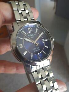 Tissot PRC200 T014410A quartz blue dial