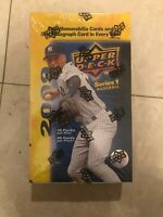 2009 Upper Deck Series 1 Hobby Box FACTORY SEALED NEW