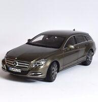 Norev Mercedes Benz CLS 500 Shooting Brake indium grey lackiert 1:18, OVP, K008