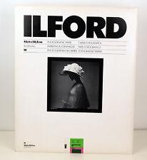 2x 10 Blatt 40X50 ILFORD Multigrade MG und MGFB 1K Glossy Brillant. 021