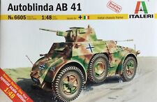 ITALERI 6605 1/48 Scale Military Vehicle Autoblinda Ab 41Modeller's Kit #6605